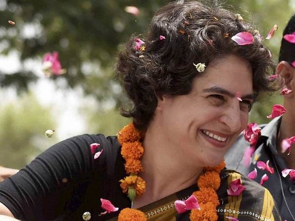 Priyanka Gandhi Makes Twitter Debut Some Prominent Personalities She Follows