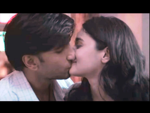 Cbfc Chops Ranveer Singh Alia Bhatt S Kissing Scene Some Cusss Words