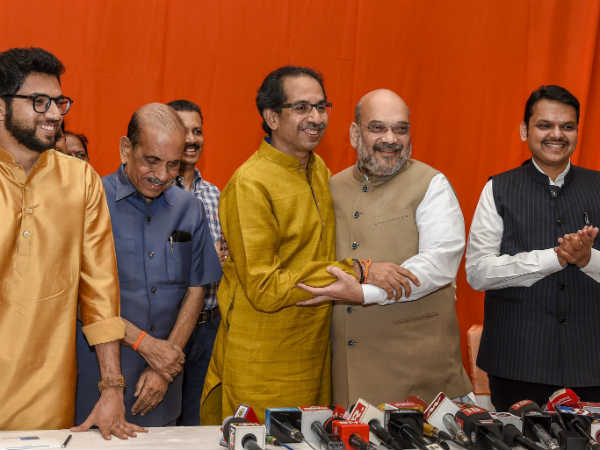 Reasons Why Bjp Shivsena Strike Alliance Despite Hard Relation