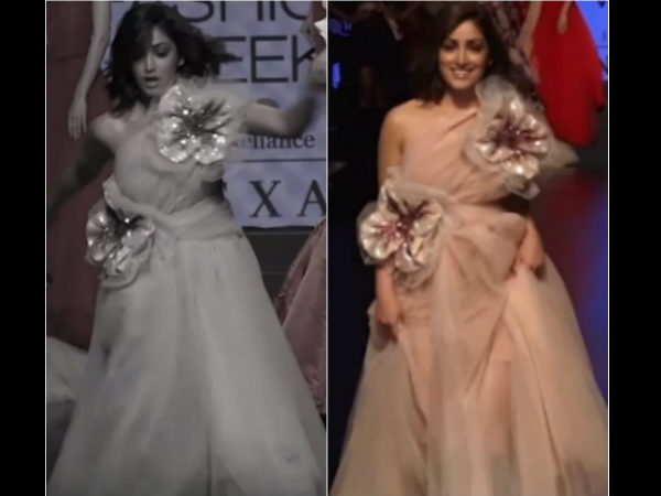 Yami Gautam Almost Trips On The Lakme Fashion Week Ramp See Video