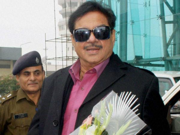 Bjp Rebel Leader Shatrughan Sinha Join Congress On March