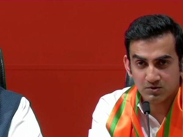 Former Cricketer Gautam Gambhir Joins Bjp The Presence Arun Jaitley Ravi Shankar Prasad Delhi