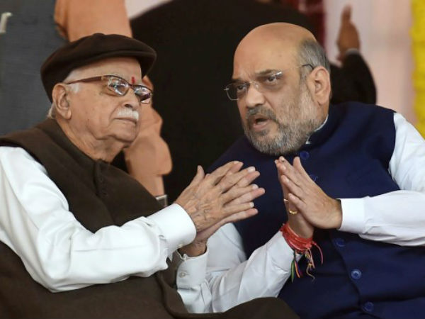 One Third Mp From Bjp Can Be Dropped Inclueding Lk Advani