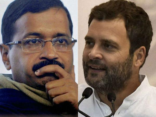 Aap Congress Alliance Lok Sabha Elections 2019 Rahul Gandhi Arvind Kejriwal
