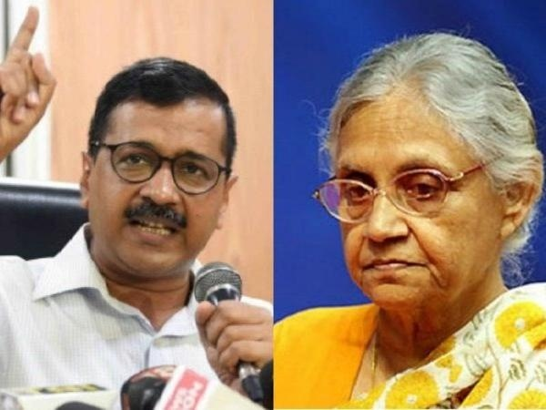 Arvind Kejriwal Hits Out At Sheila Dikshit And Pm Narendra Modi
