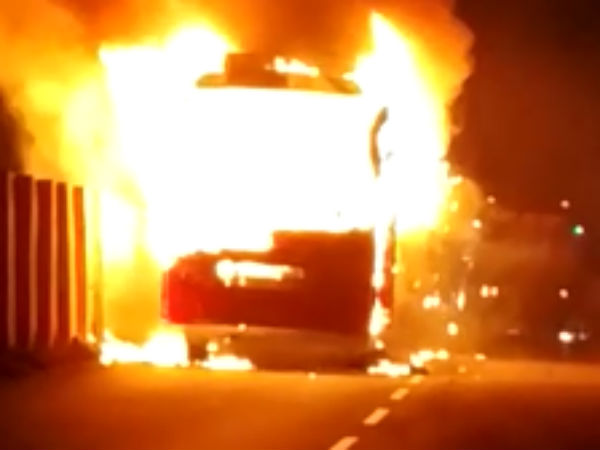 People Killed 28 Injured After Tour Bus Caught Fire In China