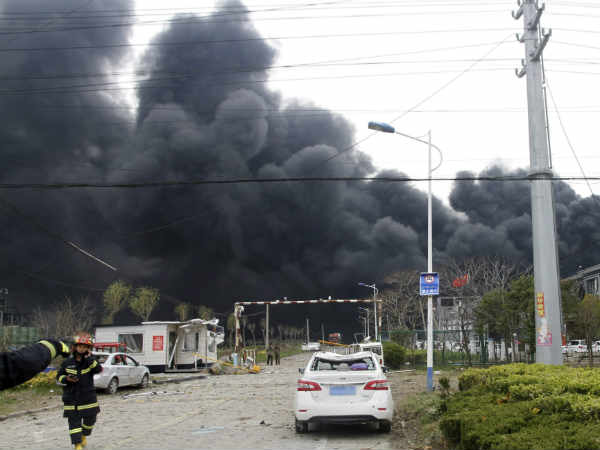 China Blast At Tianjiayi Chemical Plant Kills 47 Leaves More Than 600 People Injured