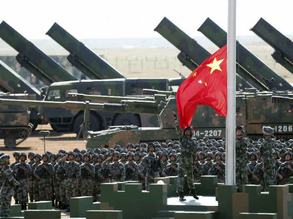 China Hikes Its Defence Budget 7 5 Percent Its Now Three Times India