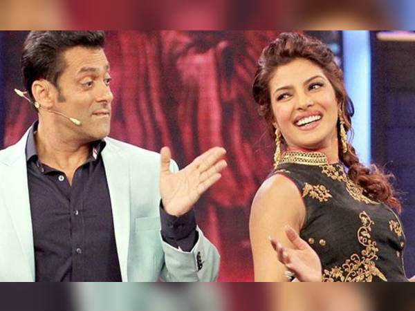 Super Star Salman Khan Make Joke On Priyanka Chopra Launching Dating App