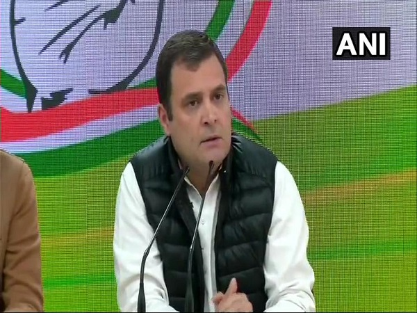 Congress President Rahul Gandhi Press Conference Rafale Scam Attacks Pm Modi