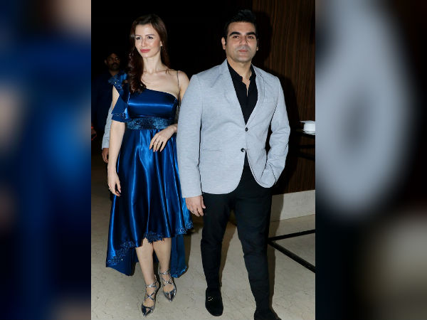 Arbaaz Khan Accepted That He Is Dating Georgia Andrian