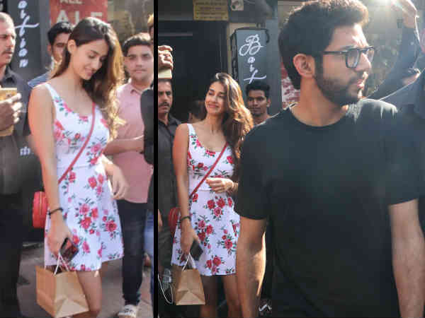 Disha Patani Latest Pictures Looks Hot A Mini Dress Disha Patani Lunch Date With Aditya Thackeray