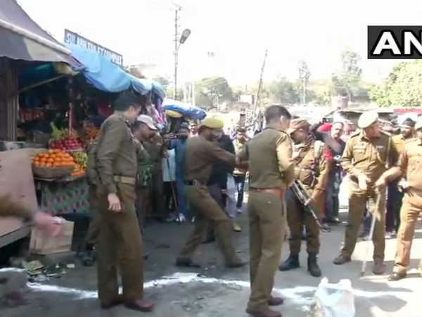Blast At Jammu Bus Stand Injured Admitted To Hospital