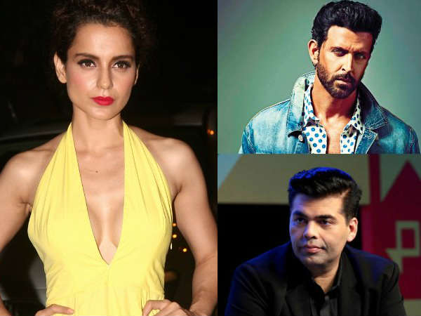 Kangana Ranaut Lashes Out Karan Johar Hrithik Roshan Once Again