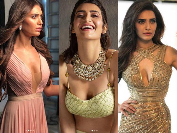Naagin 3 Fame Karishma Tanna Sexy Black Bold Look Viral