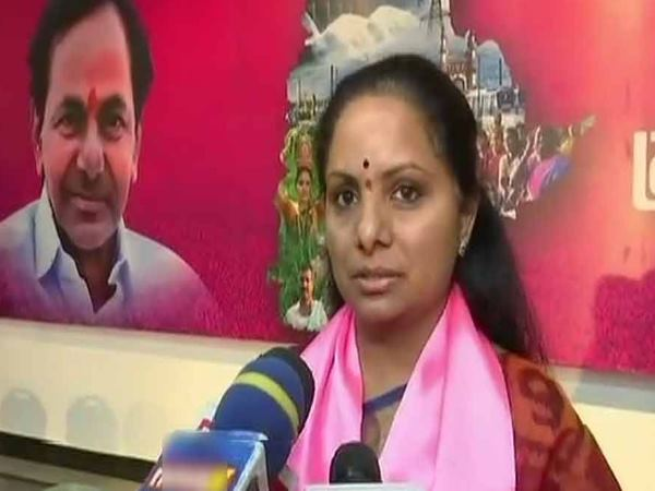 Farmers Contest Against Kcr Daughter Telangana