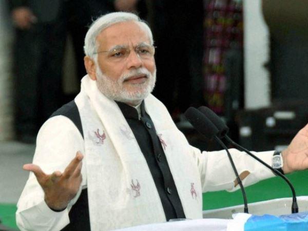 I Always Thing Big Says Modi At Jamnagar