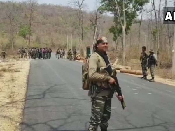 Chhattisgarh Security Forces Recover Bodies Four Naxals