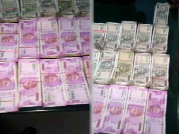 Police Seized 25 Lakhs After Model Code Conduct Came Into Force