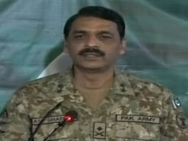 Pakistan Army Spokesperson Major General Asif Ghafoor