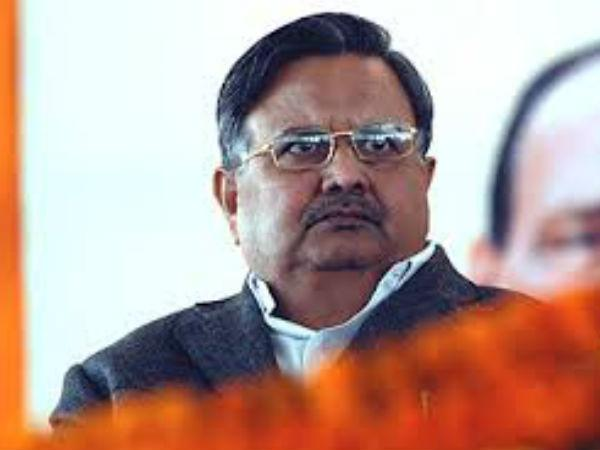 The Bjp Has Dropped Former Chhattisgarh Chief Minister Raman Singh