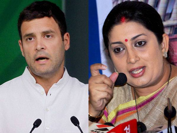 Loksabha Elections 2019 Not Just Amethi Smriti Irani Likely To Take On Rahul In Wayanad As Well