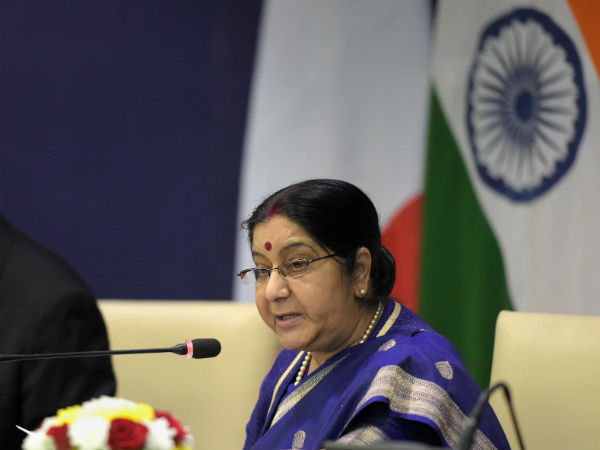 External Affairs Minister Sushma Swaraj Has Challenged Pakistani Pm
