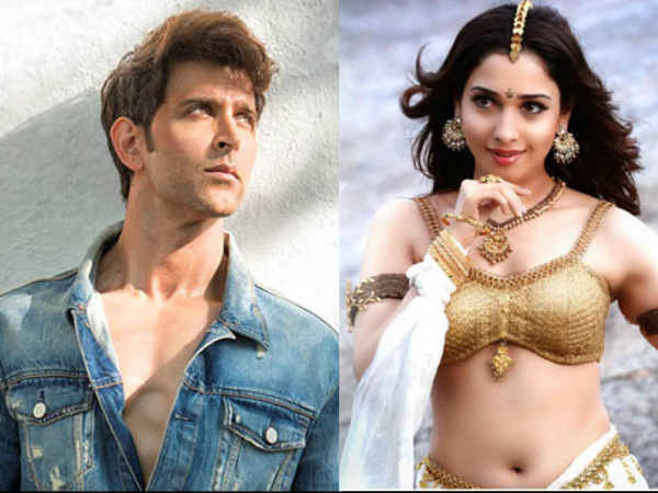 Tamannah Bhatia Will Break The No Kiss Rule Hrithik Roshan
