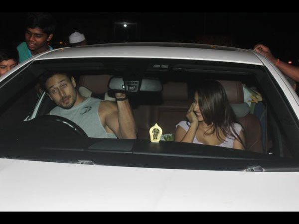 Tiger Shroff Celebrate His Birthday With Lady Love Disha Patani