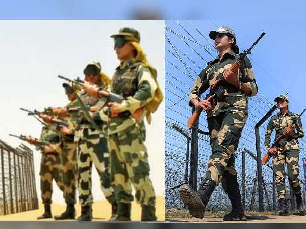 Women Soldiers On India Pakistan Border Jaisalmer