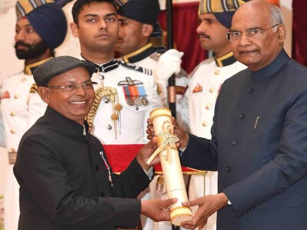 President Ram Nath Kovind Confers Padma Awards On 47 This Year 112 Recipients