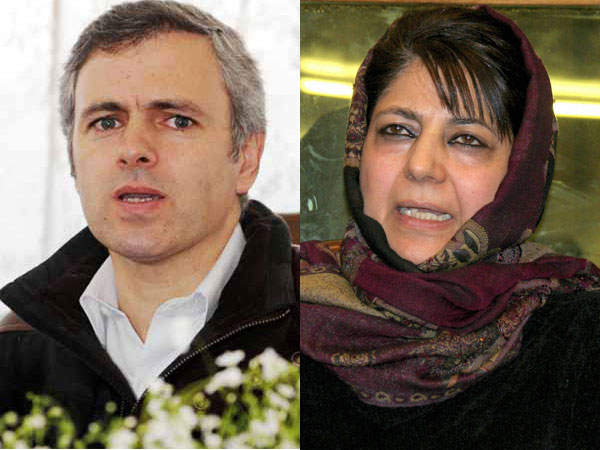 Omar Abdullah And Mehbooba Mufti Hits On Pm Modi Shares Pic On Twitter