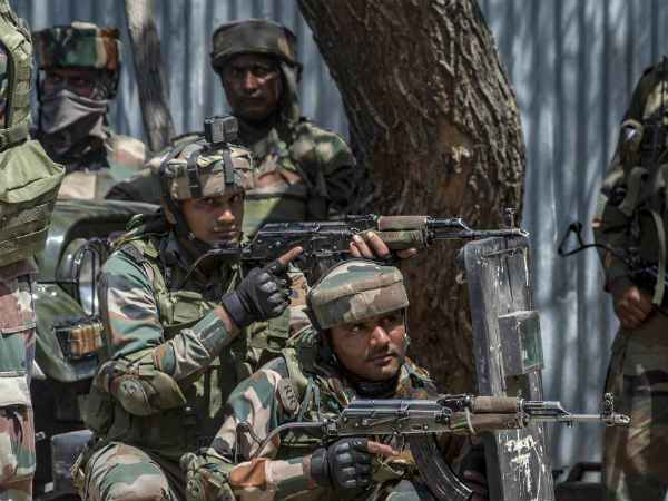 Jammu And Kashmir Army Encountered 2 Terrorist In Shopian