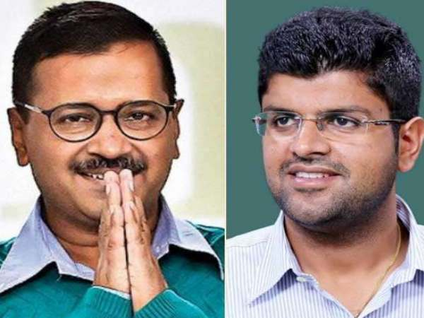 Arvind Kejriwal Aap Finalised An Alliance With Dushyant Chautala Jjp Haryana