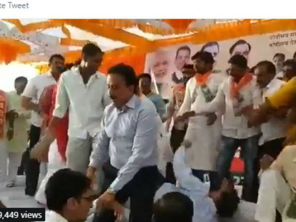 Lok Sabha Elections 2019 Bjp Leaders And Workers Clash Over Ticket Distribution