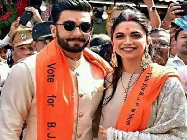 Ranveer Deepika Fake Pictures To Vote Appeal For Bjp Gone Viral