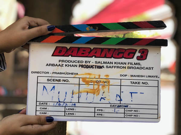 Some Videos From Sets Of Dabangg 3 Was Recently Released On Social Media