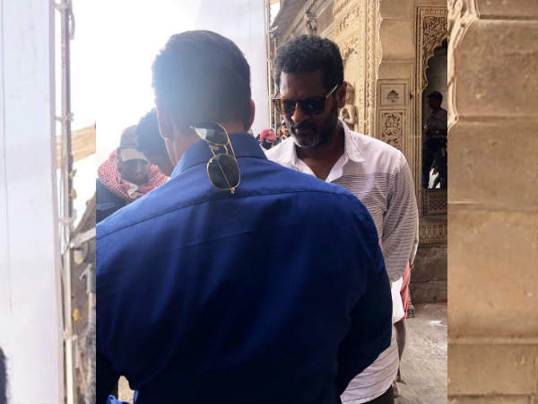 Film Shoot Of Dabang 3 Began Salman Shared First Pic From Set