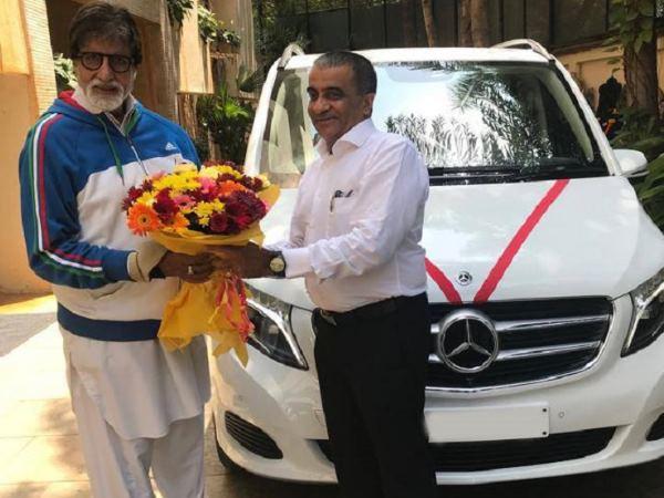 Amitabh Bachchan Bought Mercedes Benz V Class Mpv