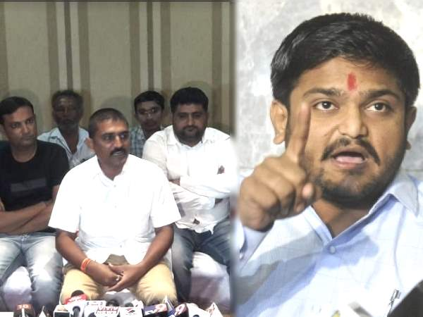 Patidar Reservation Movement Committee Leader Dilip Sabwa Target On Hardik Patel
