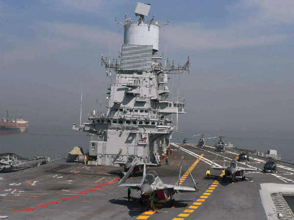 Fire On Board Ins Vikramaditya And One Indian Navy Officer Lost His Life