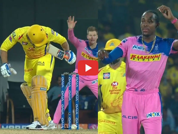 Ipl 2019 Dhoni Not Out Despite Being Bowled In The Wicket