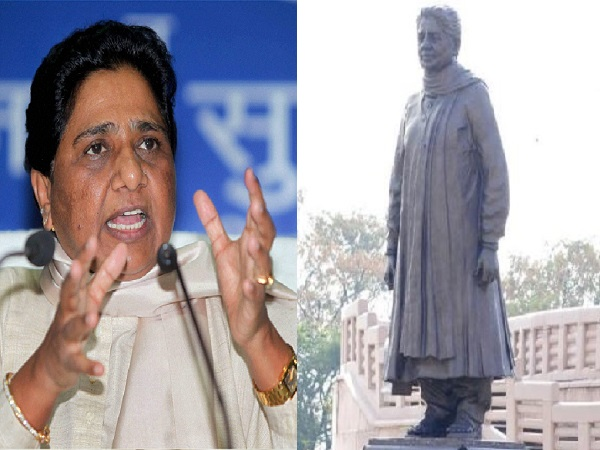 Mayawati Justifies To Sc If Ram Statue Ok Then Why Not Mine