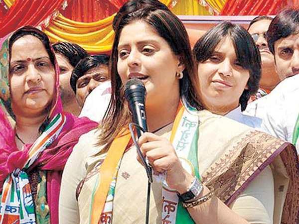 Congress Leader Nagma Attacks On Pm Narendra Modi