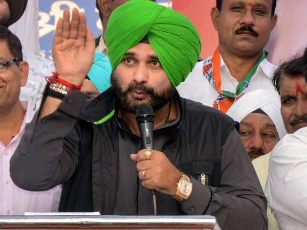Navjot Sidhu Says Wrong Vote Can Make Your Children Chaiwala Bjp Counters