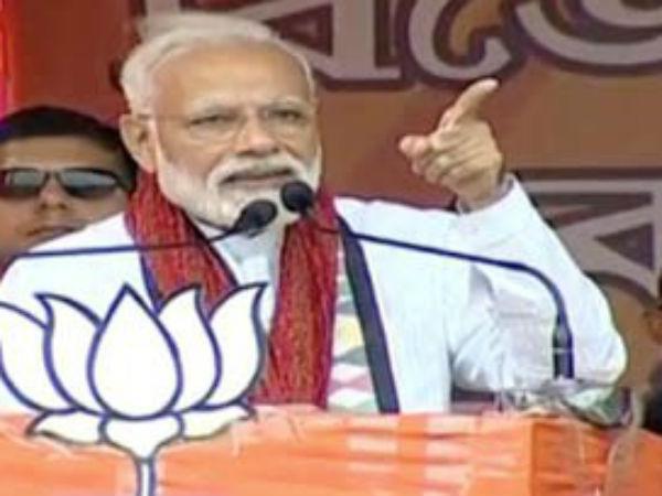 Lok Sabha Elections 2019 Pm Narendra Modi Addresses Rally