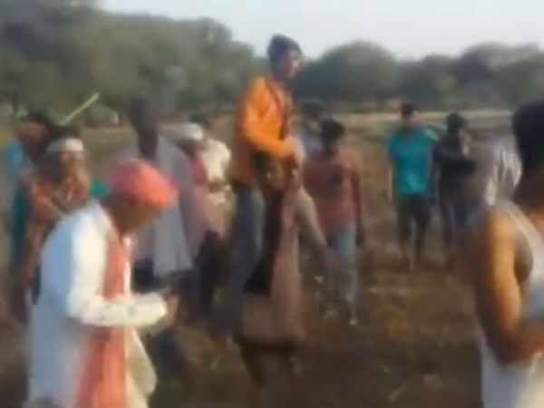 Woman Was Punished To Carry Her Lover On Her Shoulder For Marrying Different Caste Man