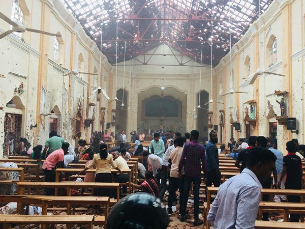 Multiple Explosions In Colombo And Other Parts Of Sri Lanka