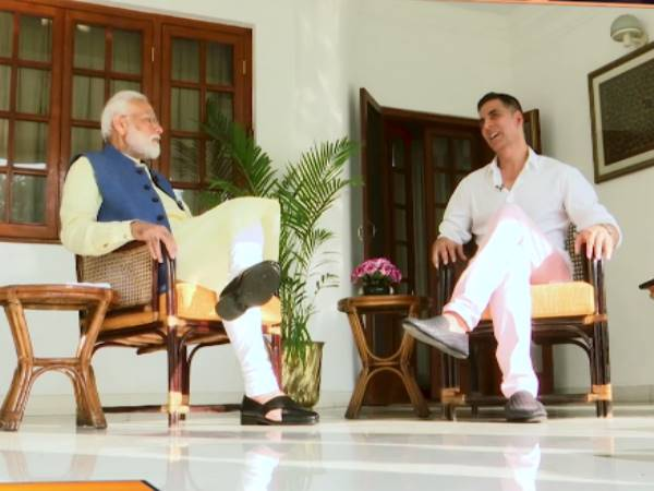 Full Interaction Of Pm Narendra Modi And Actor Akshay Kumar To Be Released Today At 9am