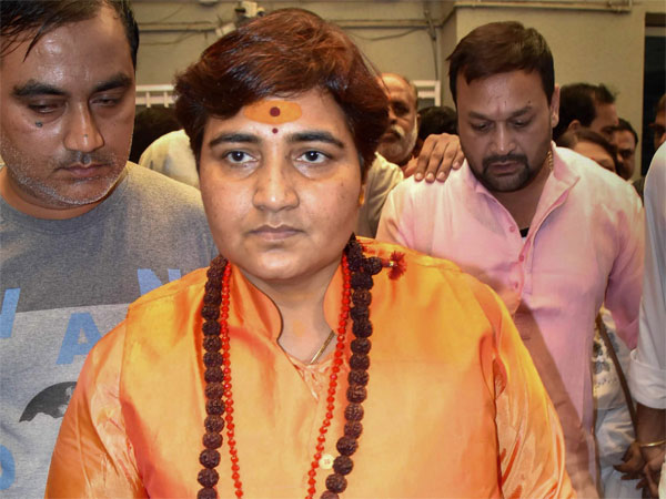 Pragya Thakur Gives Another Controversial Remark Says She Will Built Ram Temple Gets Ec Notice